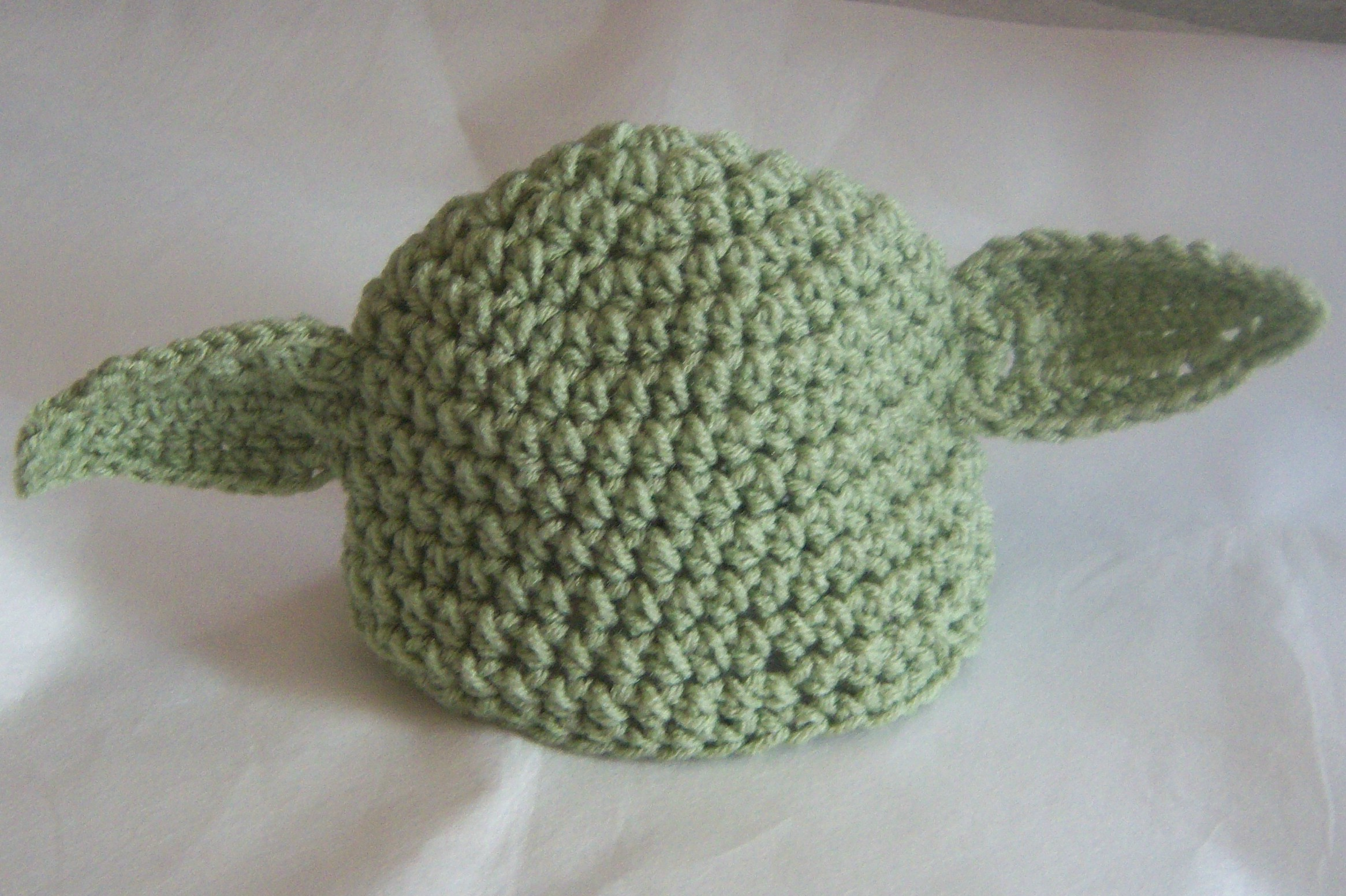 8dc5c7d110d Newborn 0-3 Month Size Yoda Baby Beanie Hat Star Wars Inspired So Cute Baby  Shower Gift Photogr on Luulla